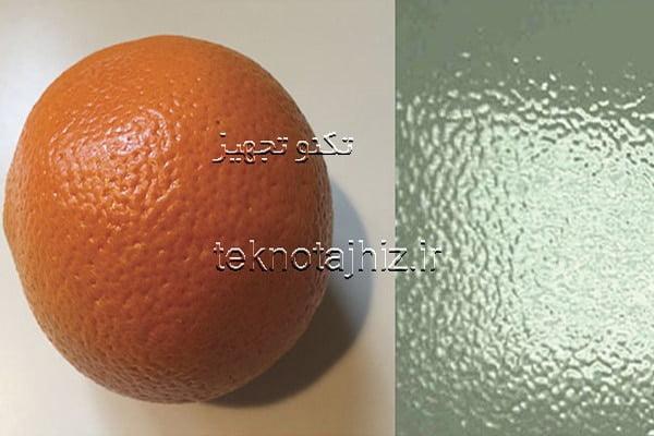 پدیده پوست پرتقالی شدن رنگ پودری
