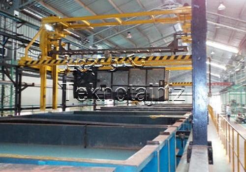 عملیات شستشو چربی گیری و فسفاته کاری فلزات قبل از رنگ کاری پودری الکترو استاتیک