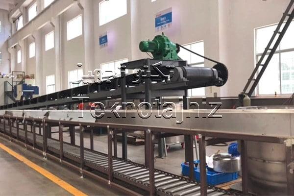 نمایی از کارخانه خط تولید تجهیزات پوشش دهی داکرومات