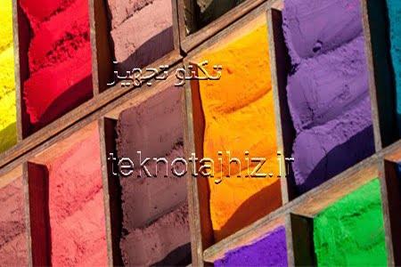 ترکیبات و مواد اولیه تشکیل دهنده پوشش های پودری